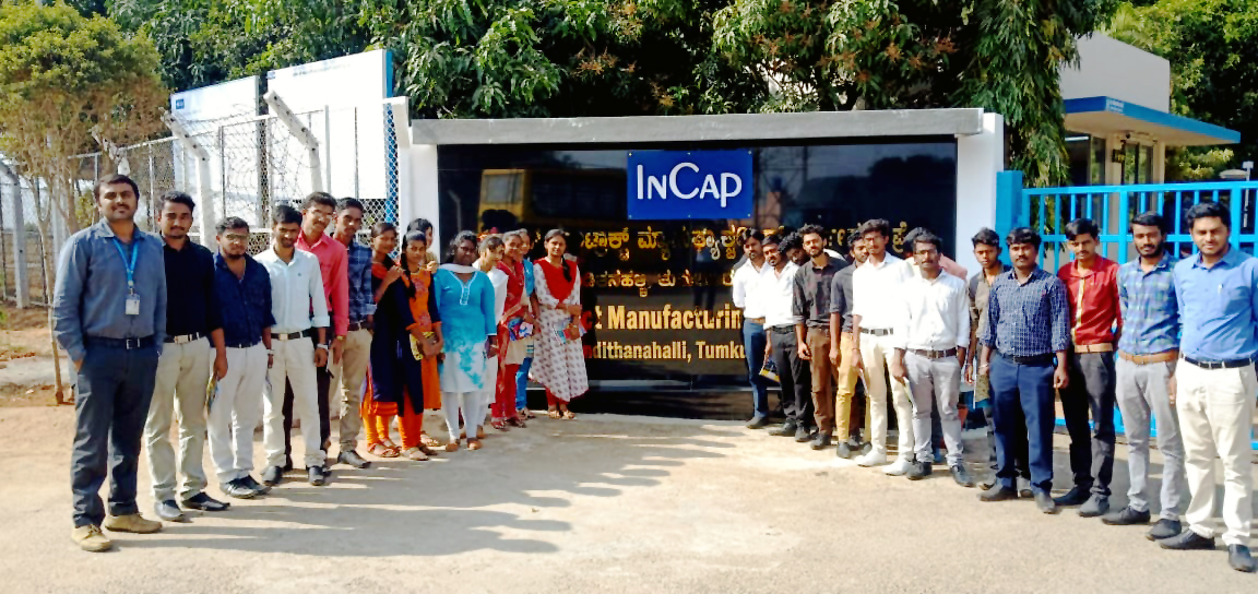 Industrial Visit to INCAP, Panditanahally, Tumakuru
